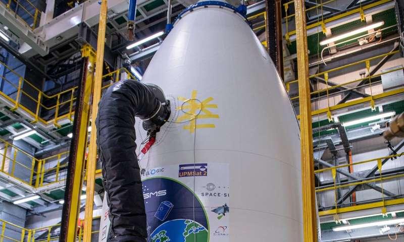 When Vega met satellites