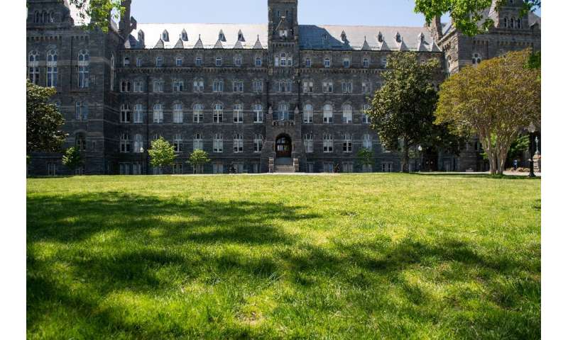While schools like Georgetown University have sizeable endowments, smaller colleges could face financial ruin if enrollments dro