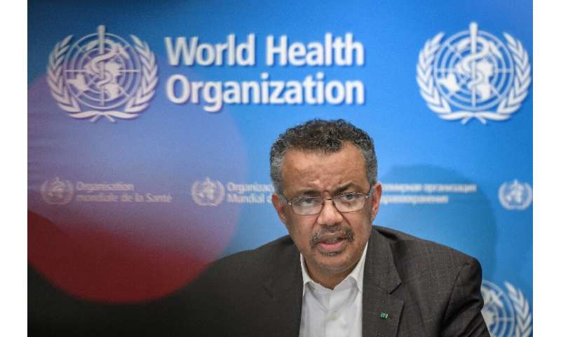 "WHO chief Tedros Adhanom Ghebreyesus said the world has a ""window of opportunity"" to halt the spread of the coronaviru"