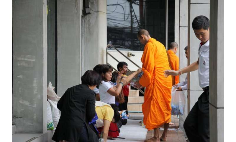 Why Buddhist monks collect alms and visit households even in times of social distancing