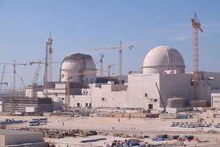 Why is the UAE, where solar energy is abundant, about to open four nuclear reactors?