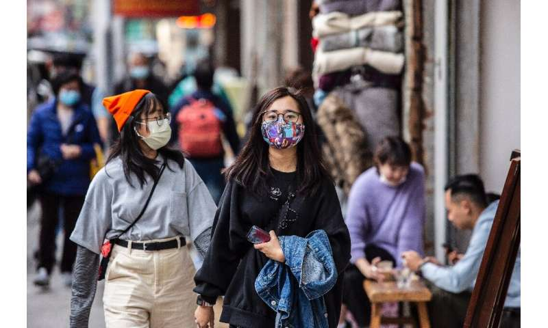 With a chrnoic shortage of face masks, Hong Kongers are becoming increasingly inventive to protect themselves against the corona