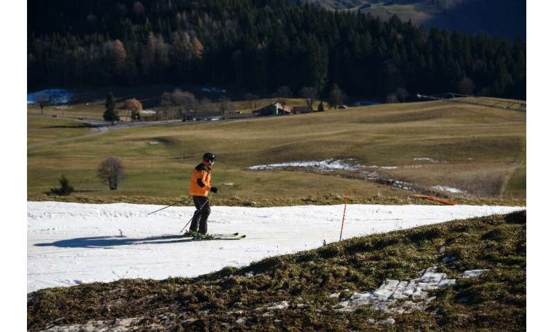 With less snow in winter, some traditional ski resorts are now looking at a switch to summer tourism