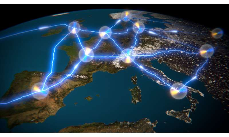 World's record entanglement storage sets up a milestone for the European Quantum Internet Alliance