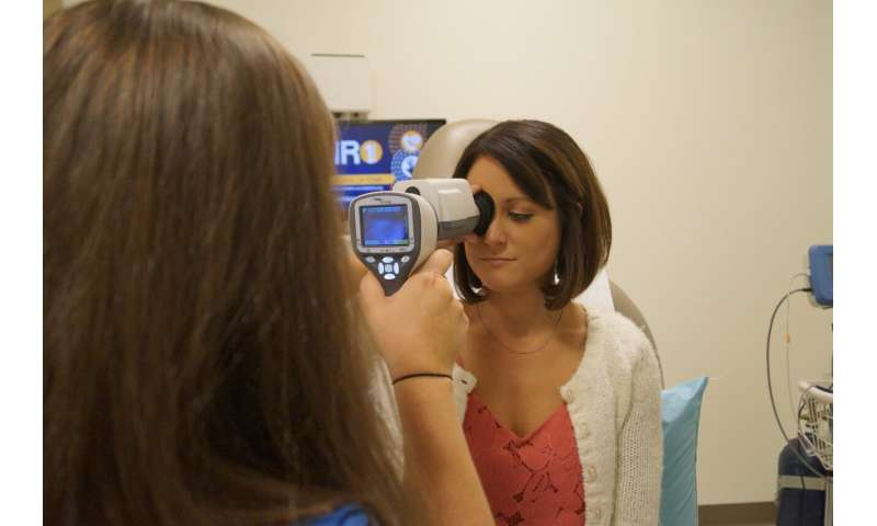 WVU project sets sights on preventing blindness in diabetic patients