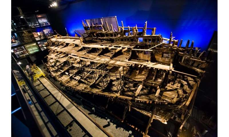 X-ray analysis of artefacts from Henry VIII's warship the Mary Rose