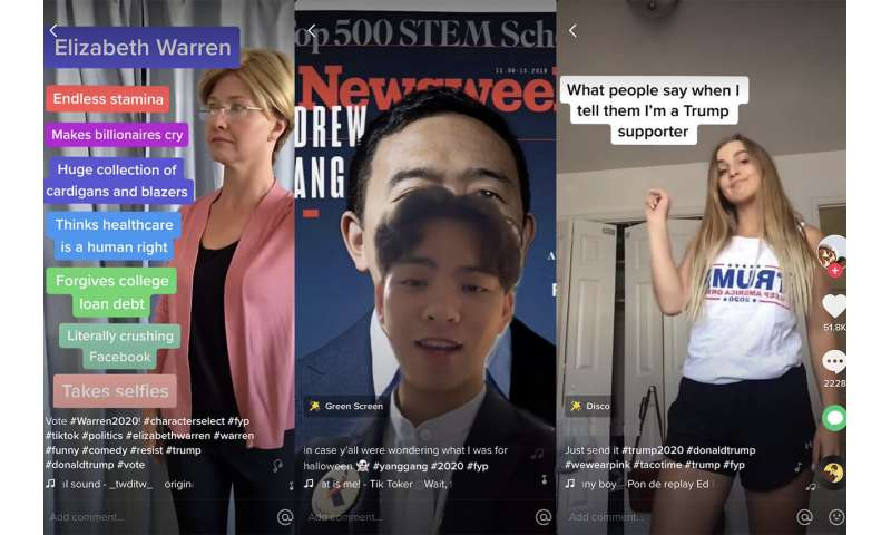 Young people are talking politics on TikTok. Is this a good thing?
