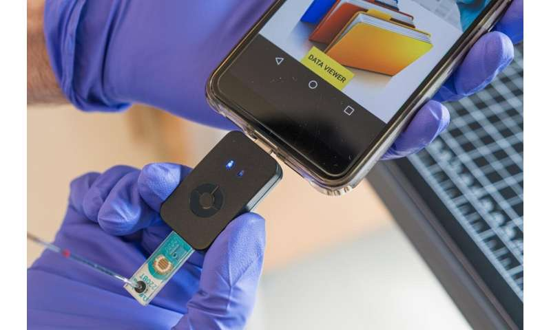 Chip simplifies COVID-19 testing, delivers results on a phone
