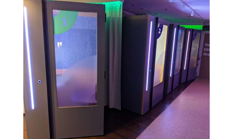 'COVID-killing' remote working pods to revive town centres
