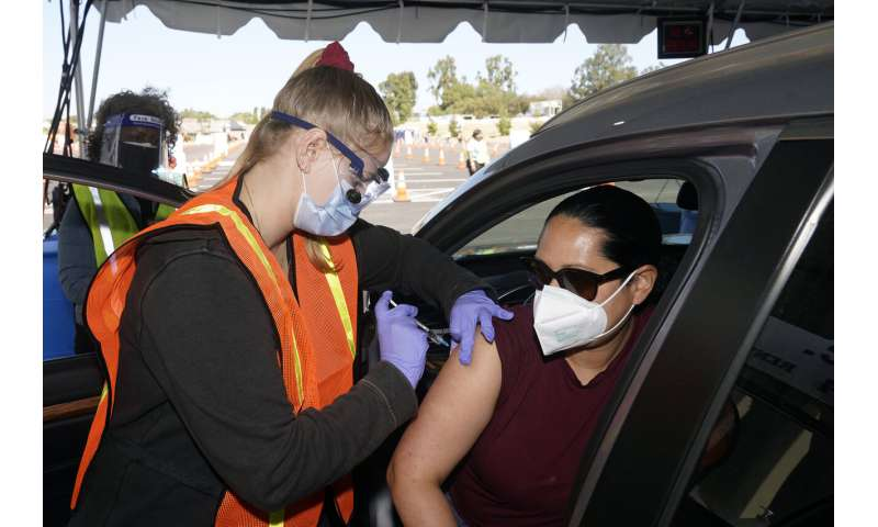 Fully vaccinated people can gather without masks, CDC says