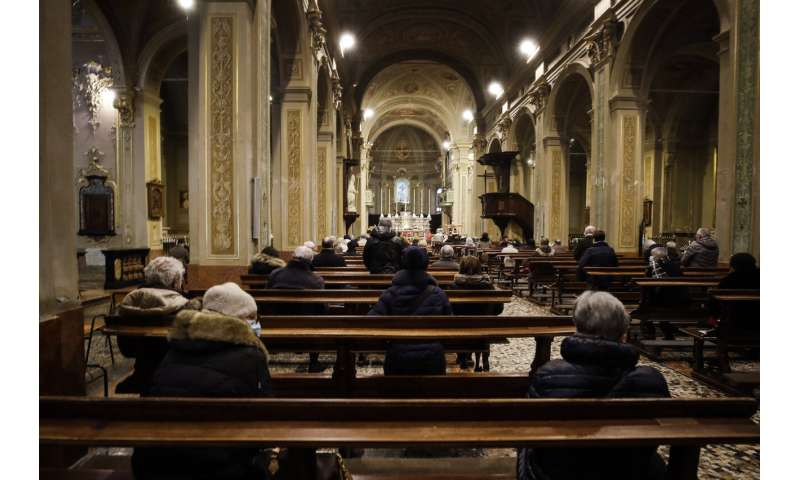 With heavy hearts, Italians mark year of COVID-19 outbreak