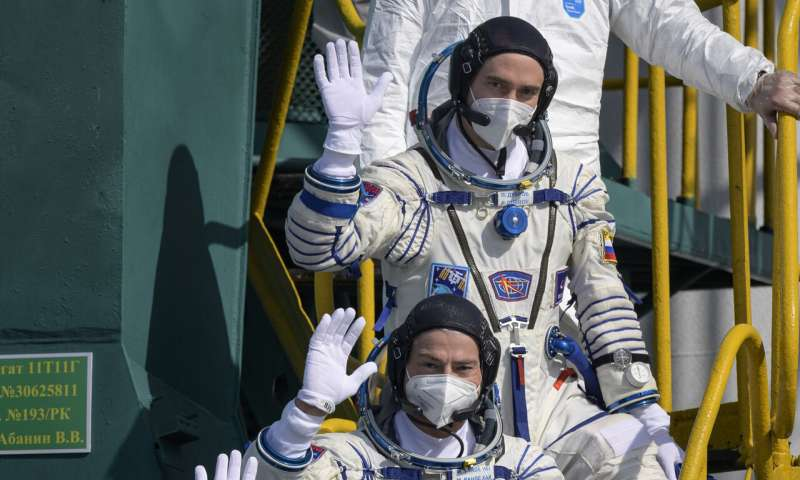 American, Russians dock at International Space Station