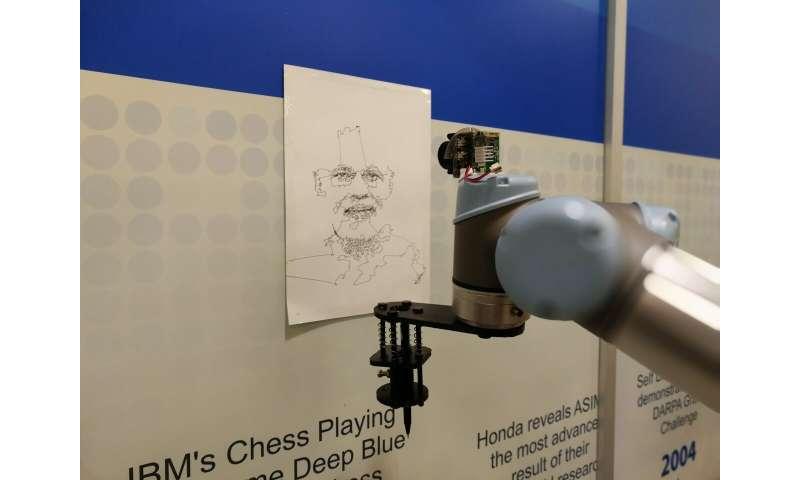 Chitrakar: Sistem yang dapat mengubah gambar wajah manusia menjadi gambar