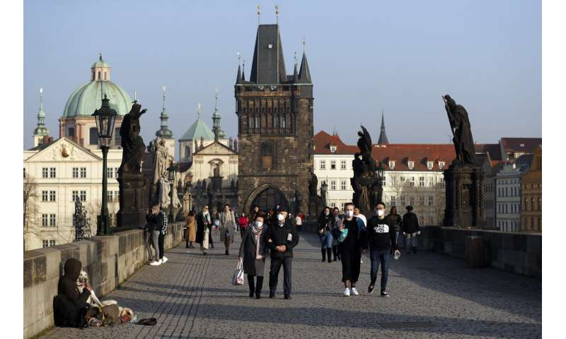 The Czechs impose the tightest ban amid the surge in the British variant