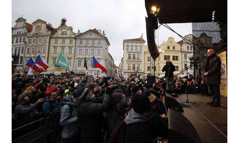 Hard-hit Czech Republic reaches 1 million confirmed cases