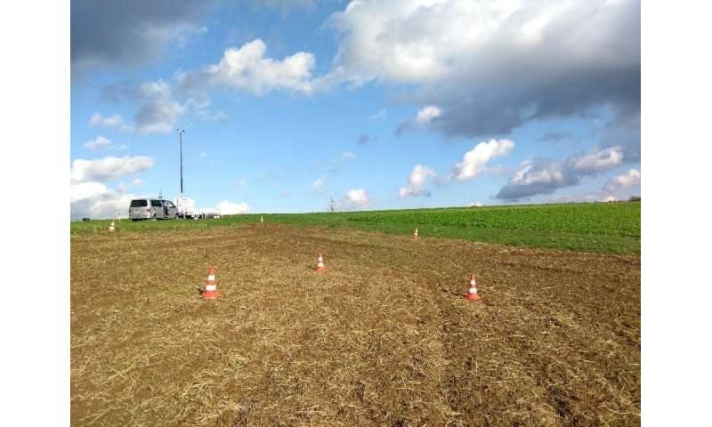 Monitoring system protects trial crops