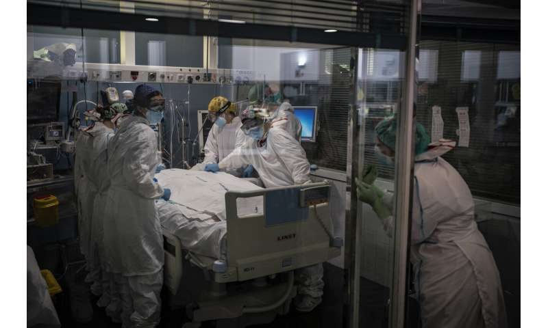 Spain's virus surge hits mental health of front-line workers