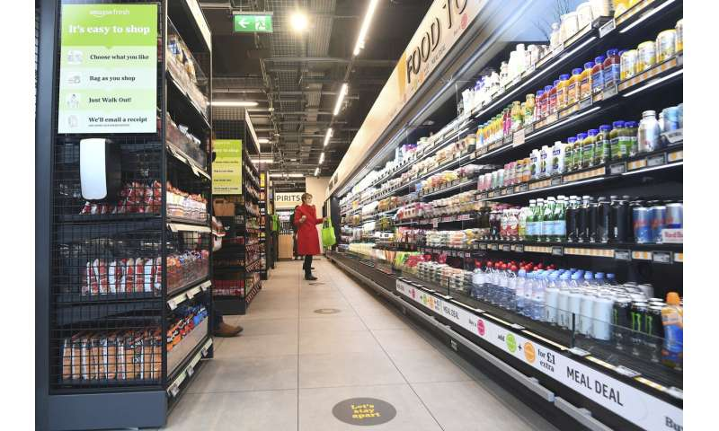 Amazon opens first UK checkout-free grocery store in London