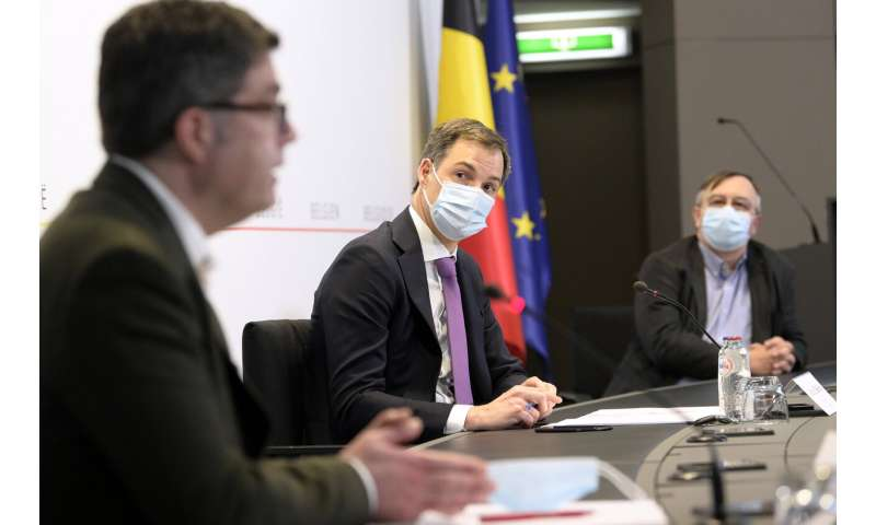 Belgian projections warn not to relax measures too quickly