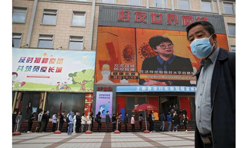 China says 200 million citizens have been vaccinated