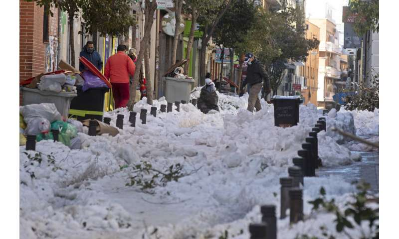 Cold snap brings Spain lowest temperatures in 20 years
