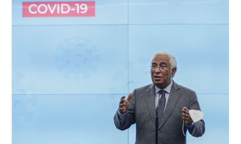Hopes rise in Portugal but COVID-19 still slams hospitals