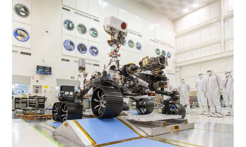 NASA rover attempting most difficult Martian touchdown yet
