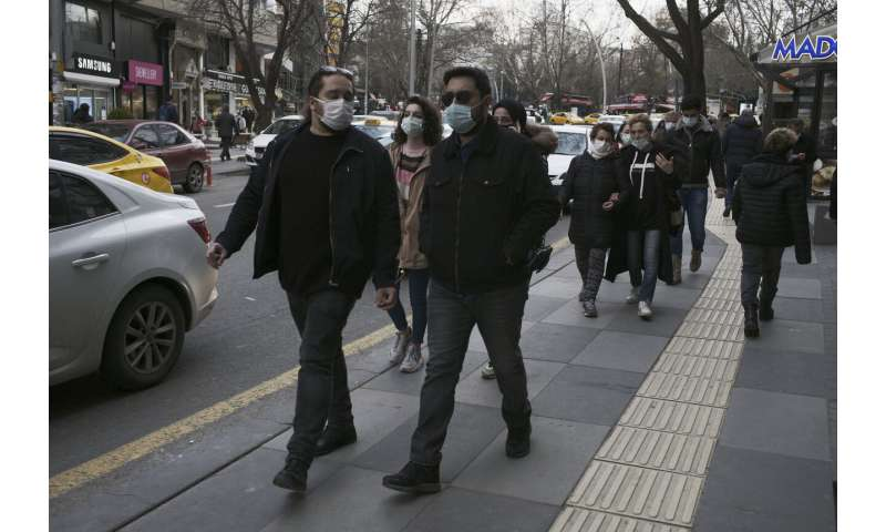 Turkey reimposes restrictions after sharp rise in infections