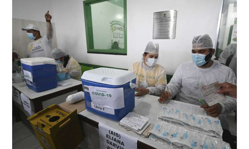 Brazil announces incoming vaccine cargo amid supply concerns