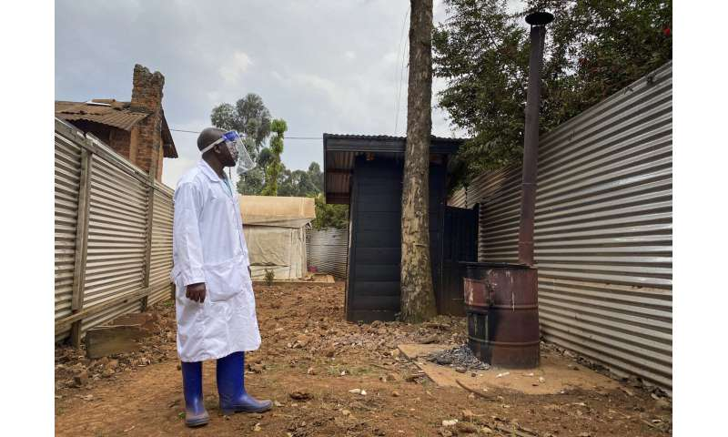 Congo officials confirm 2nd death from Ebola in the east