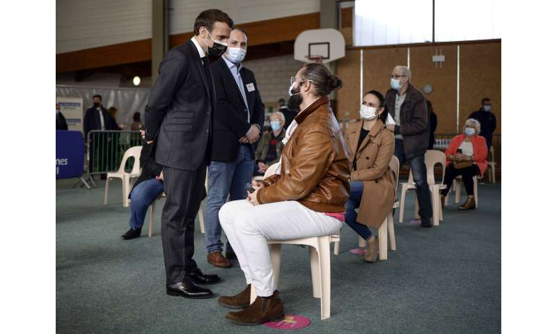 France hit by 3rd virus surge; culture minister in hospital