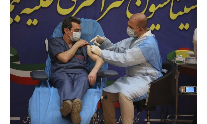 Iran starts limited COVID vaccinations with Russian shots