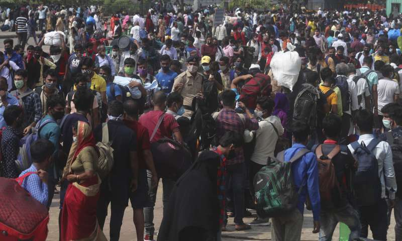Mumbai imposes strict virus restrictions as infections surge