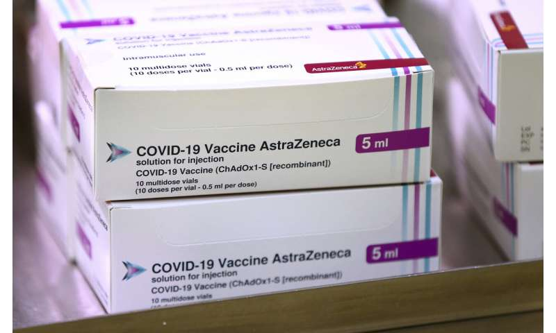UK ramps up inoculations with Oxford-AstraZeneca vaccine