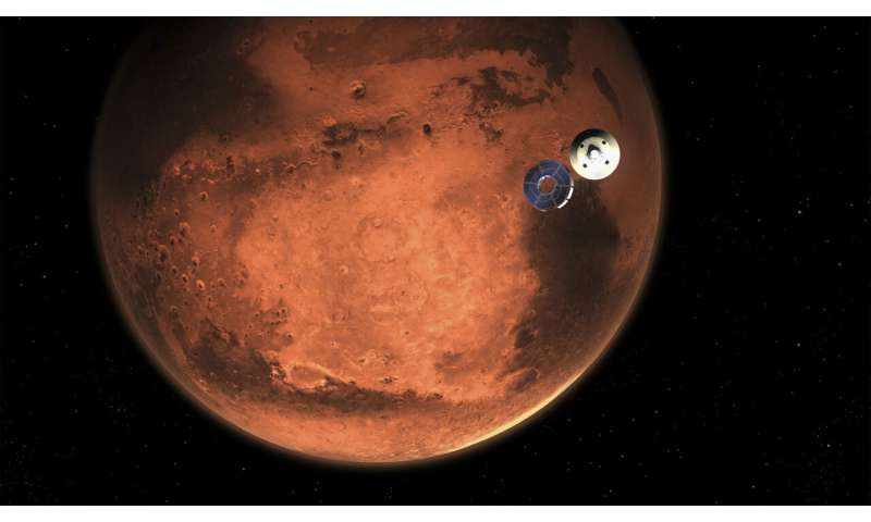 NASA rover lands on Mars to look for signs of ancient life