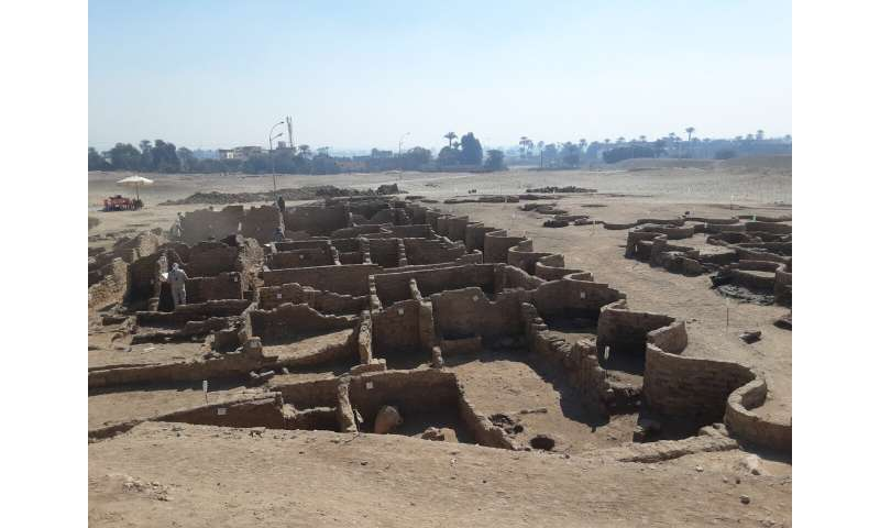 Archeologists unearth an ancient pharaonic city in Egypt