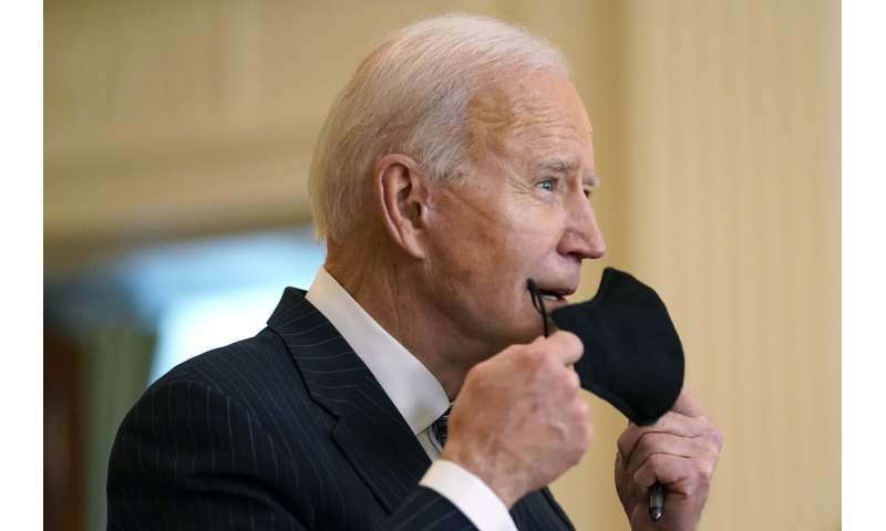 Biden eyes new goal after US clears 100M shots since Jan. 20