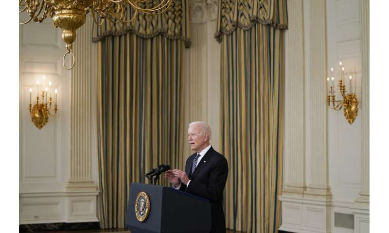 Biden makes all adults eligible for a vaccine on April 19