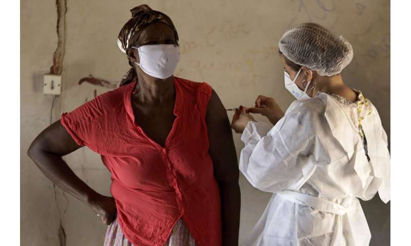 Brazil vaccine drive faces challenges in remote communities