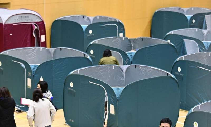 Powerful Japan quake sets off landslide, minor injuries