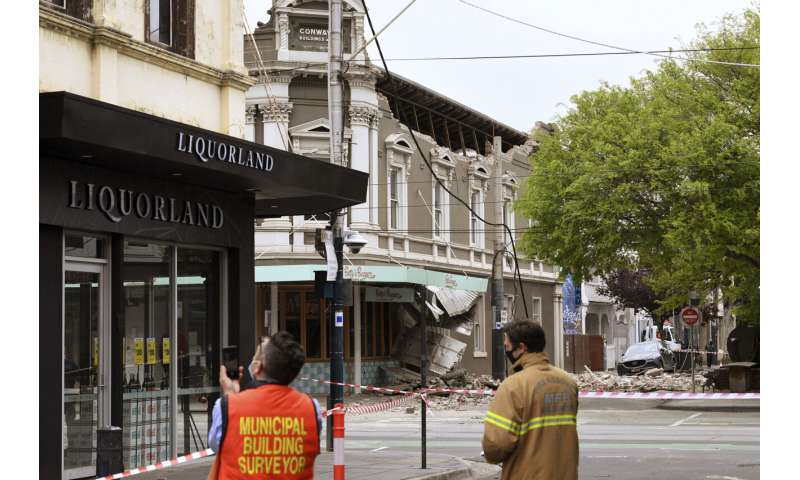 5.9 earthquake causes minor damage in Australia, no injuries