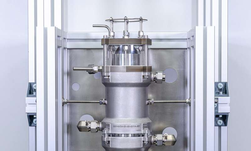 Microreactor for synthesis with Grignard reagents