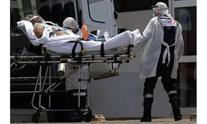 Brazil posts record single-day toll of 3,251 virus deaths