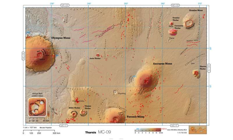 A pocket guide to Mars