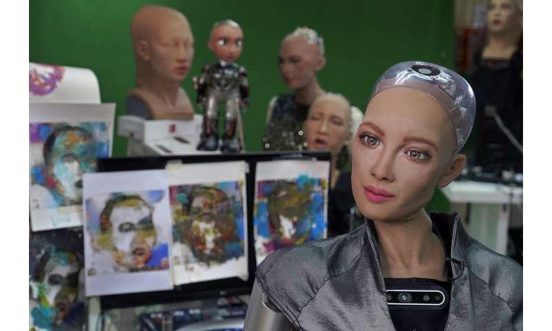 Robot artist sells art for $688,888, now eyeing music career