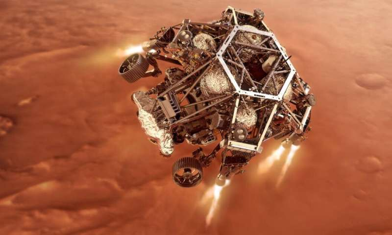 '7 minutes of terror': a look at the technology Perseverance will need to survive landing on Mars