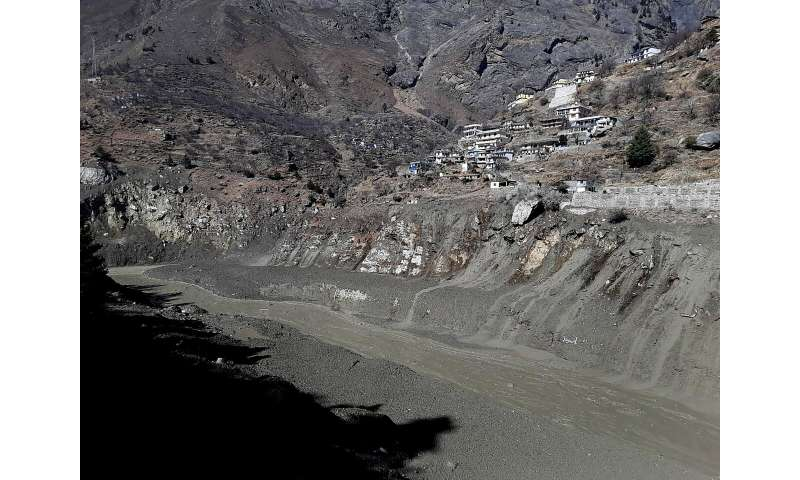 140 are missing after glacier breaks in India's Himalayas