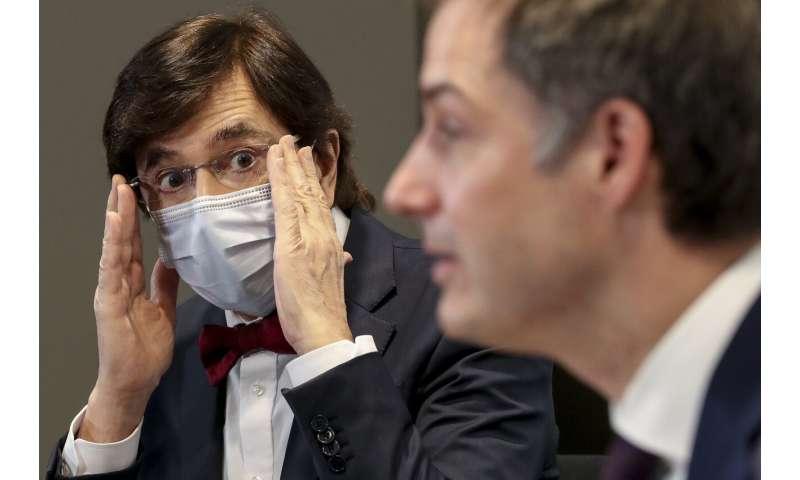 Belgium reverts to tighter Easter lockdown amid virus spike