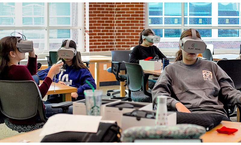 A safe space: Medical researchers use virtual reality to reach youth
