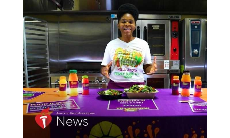 AHA news: to battle food inequity, a nonprofit helps neighbors eat healthy